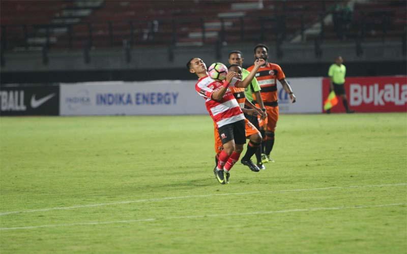 Madura United Tekuk Perseru Serui 5-0