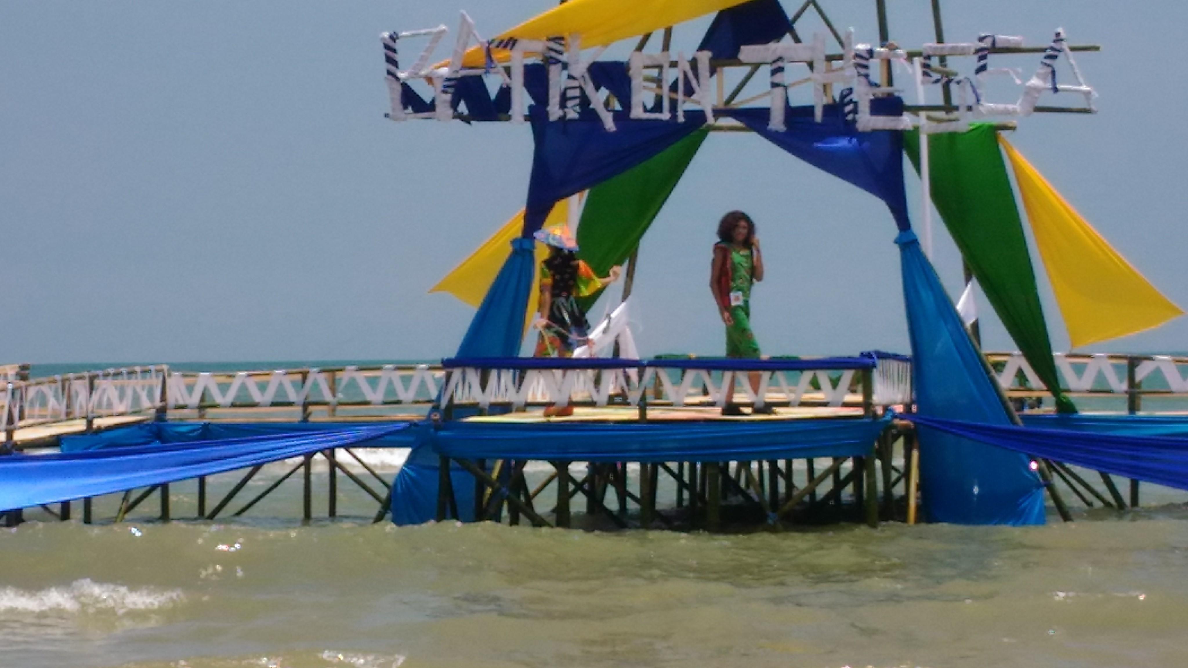 Batik On The Sea Promosikin Wisata Alam dan Batik Sumenep