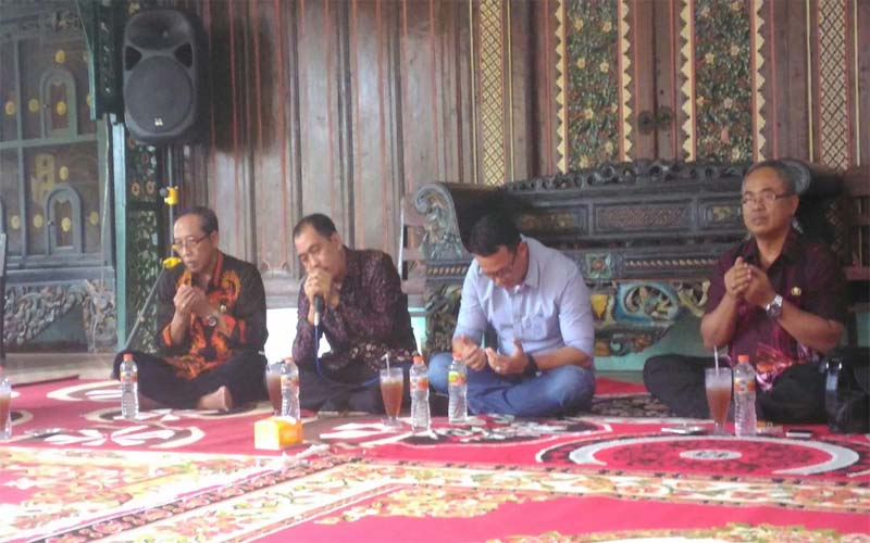 Bangun Sinergi Dengan Insan Pers, Ketua DPRD Sumenep Ajak Kuli Tinta